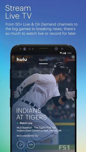 hulu live tv app